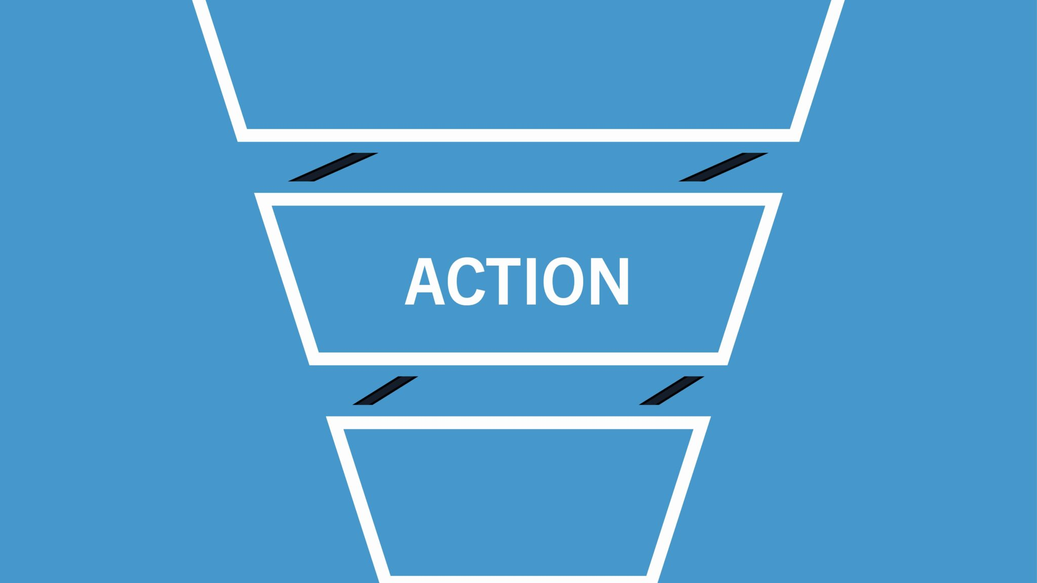 action phase of the marketing funnel