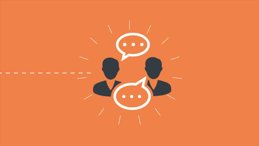 Internal Marketing requires communication between two people.