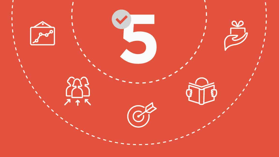 Image showing 5 tactics to enhance your account-based marketing.