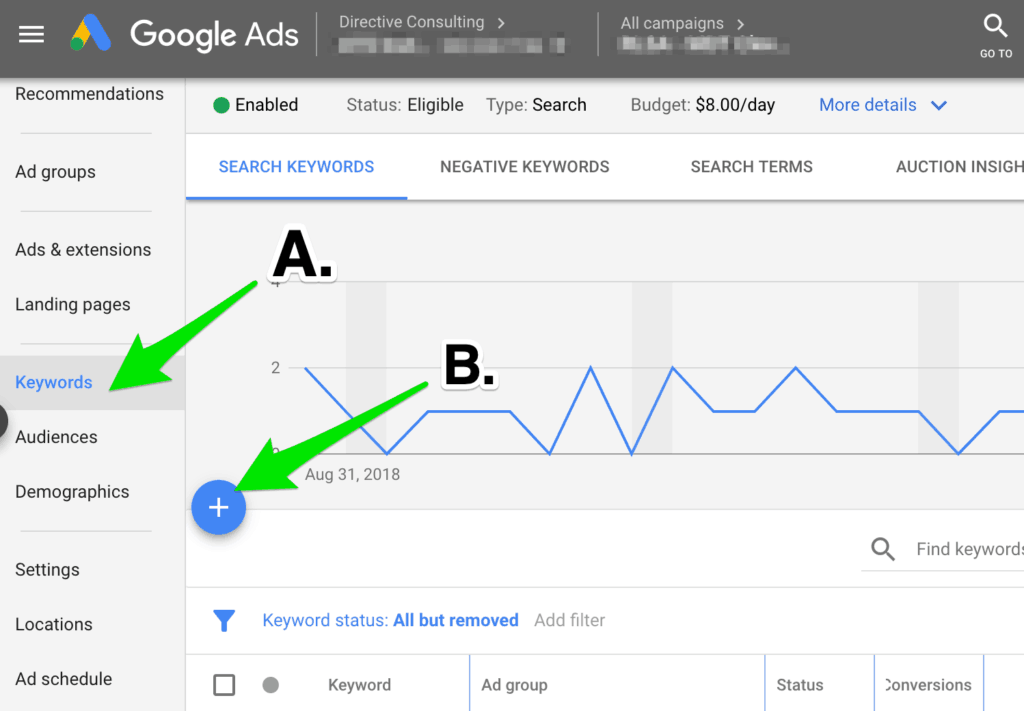 Step 6 to increase conversion rate in a remarketing campaign.