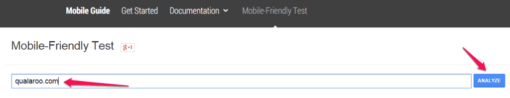 Using Google's Mobile Friendly Test Tool can be helpful when learning how to reduce bounce rate on your website.