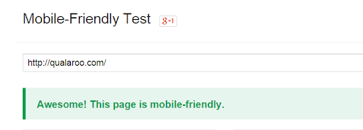 Mobile Friendly Test Tool image that is helpful when trying to reduce bounce rate on your website.