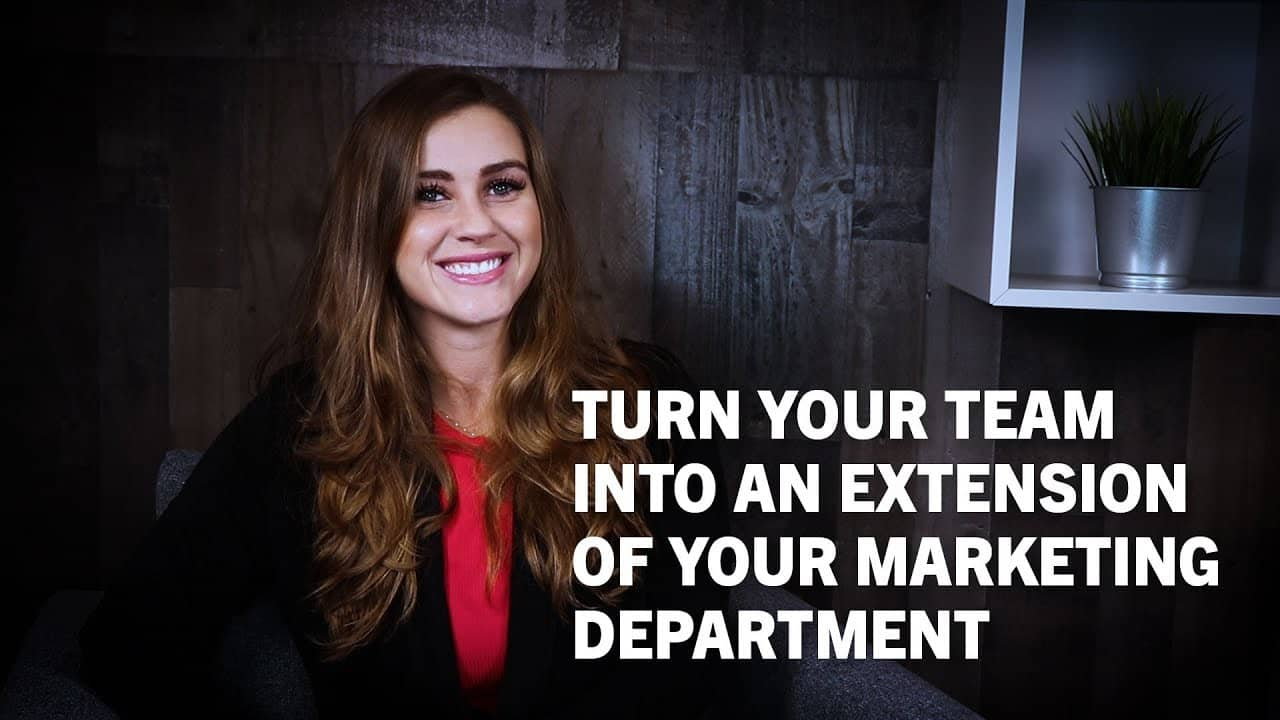 Image introducing how to turn your team into an extension of your digital marketing success.