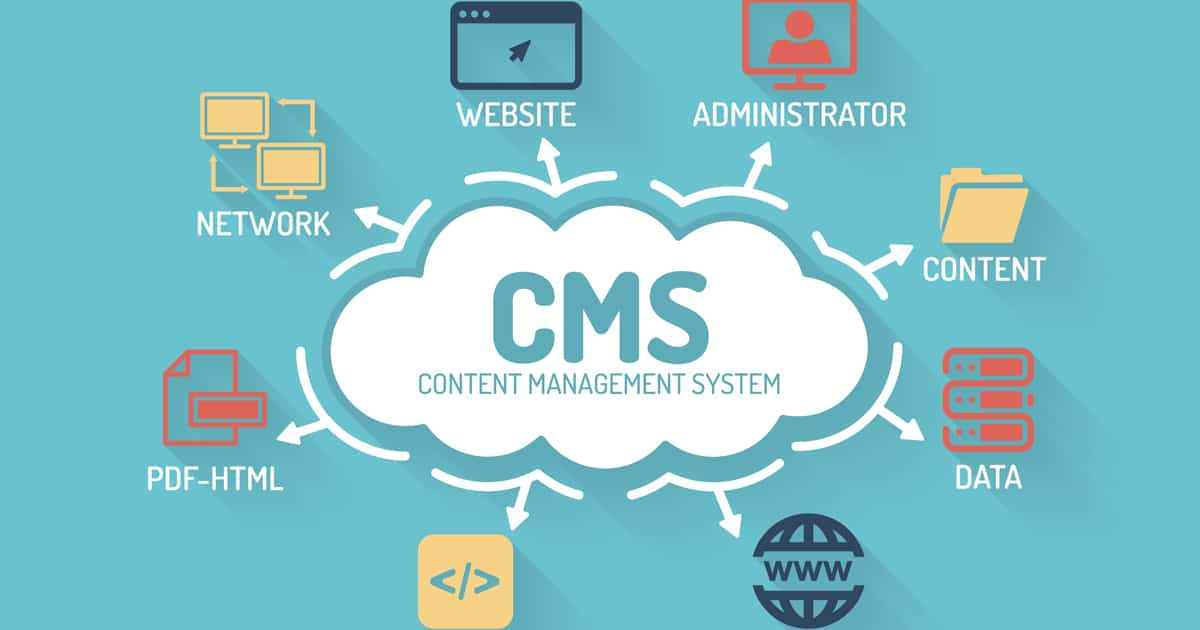 Content management systems help you manage your content and data in one space.