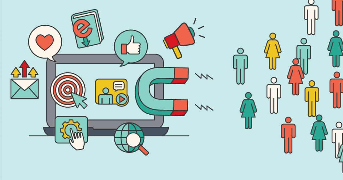 Lead generation attracts people like a magnet