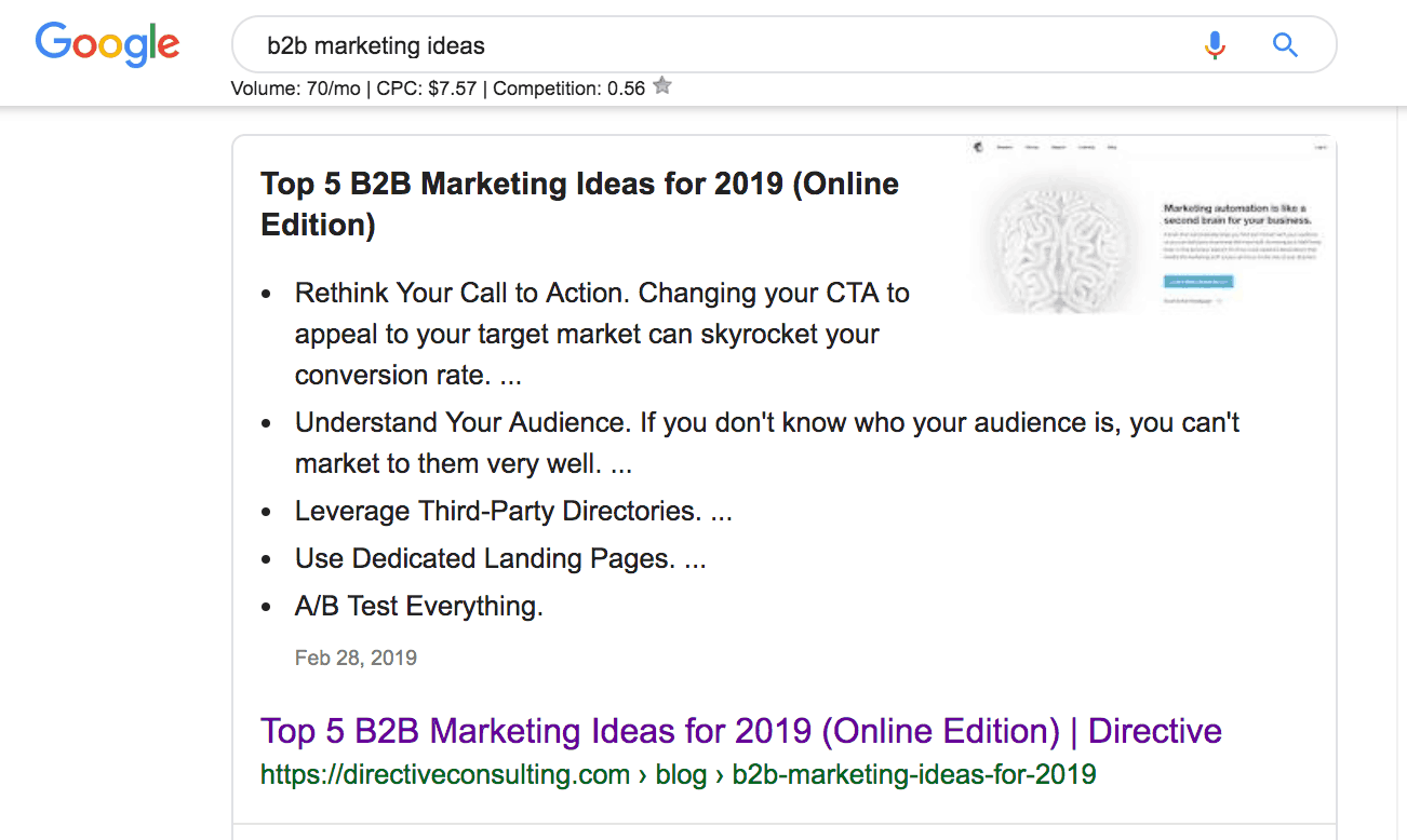 Screenshot of how to get started with lookalike audiences of key content pages.