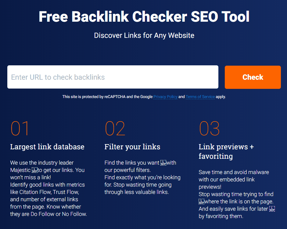 monitor backlinks free back linking tool