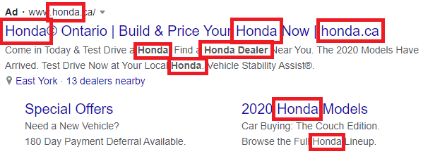 search ad best practice