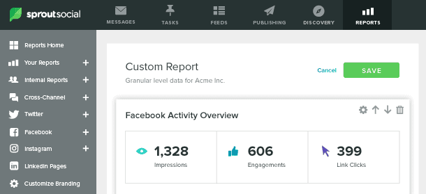 sproutsocial custom report